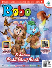 Cover Majalah Bobo ED 26 Oktober 2018