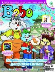 Cover Majalah Bobo ED 27 Oktober 2018