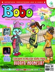 Cover Majalah Bobo ED 29 Oktober 2018