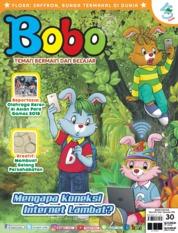 Cover Majalah Bobo ED 30 Oktober 2018