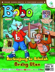 Cover Majalah Bobo ED 31 November 2018