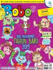 Cover Majalah Bobo ED 38 Desember 2018