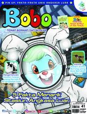 Cover Majalah Bobo ED 41 Januari 2019