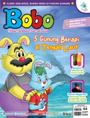 Bobo Magazine Cover ED 44 February 2019