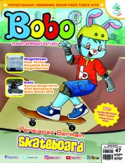 Cover Majalah Bobo ED 47 Februari 2019