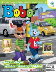 Bobo Magazine Cover ED 50 March 2019