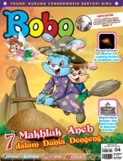 Cover Majalah Bobo ED 04 April 2019