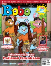 Bobo Magazine Cover ED 19 August 2019