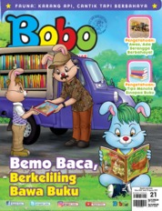 Bobo Magazine Cover ED 21 August 2019