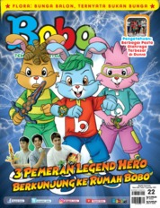 Cover Majalah Bobo ED 22 September 2019