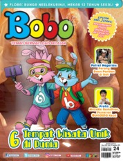 Cover Majalah Bobo ED 24 September 2019