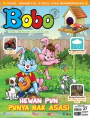 Bobo Magazine Cover ED 27 October 2019