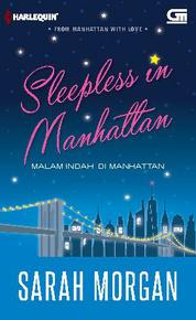 Cover Harlequin: Malam Indah di Manhattan (Sleepless in Manhattan) oleh Sarah Morgan
