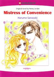 Mistress of Convenience by Penny Jordan Cover