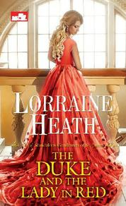 The Duke and the Lady in Red by Lorraine Heath Cover