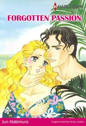 FORGOTTEN PASSION by Penny Jordan Cover