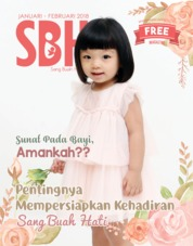 Cover Majalah Sang Buah Hati / JAN-FEB 2018 Januari–Februari 2018