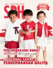 Sang Buah Hati Magazine Cover July-August 2018