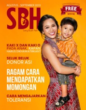 Sang Buah Hati Magazine Cover ED 03 August 2019