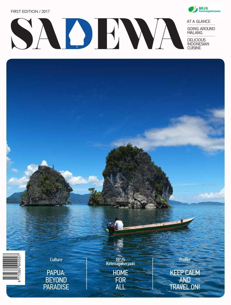 SADEWA Digital Magazine ED 01 August 2017