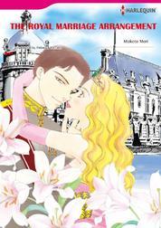 Cover THE ROYAL MARRIAGE ARRANGEMENT oleh Rebecca Winters
