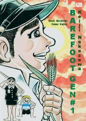 Cover Barefoot Gen #1: Kisah Hiroshima dalam Kartun oleh