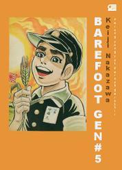 Cover Barefoot Gen #5: Perang yang Tak Pernah Berakhir oleh