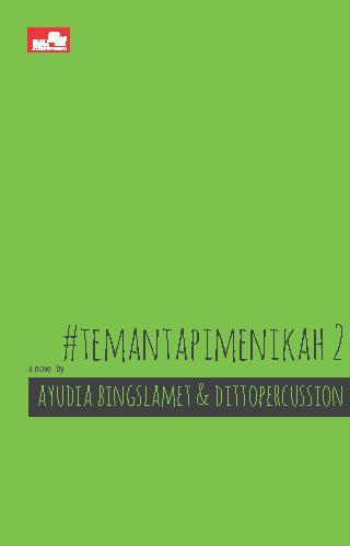 Buku Digital #Temantapimenikah 2 oleh Ayudia Bing Slamet & Ditto Percussion