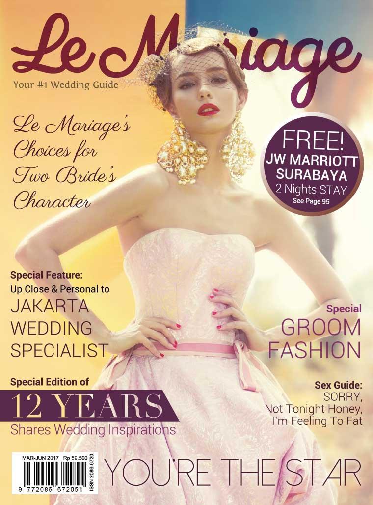 Le mariage Digital Magazine March–June 2017
