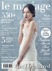 Le mariage Magazine Cover October–December 2014