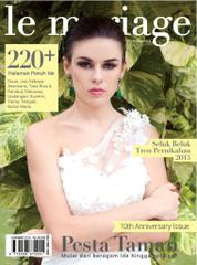Le mariage Magazine Cover January–March 2015