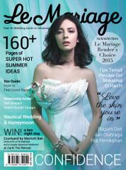 Le mariage Magazine Cover July–September 2015