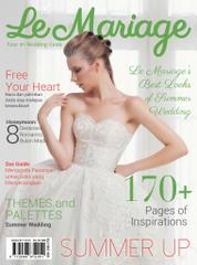 Le mariage Magazine Cover August–October 2016