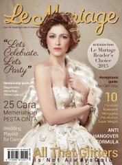 Le mariage Magazine Cover October–December 2015