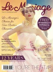 Cover Majalah le mariage