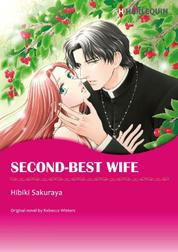 SECOND-BEST WIFE by Rebecca Winters Cover