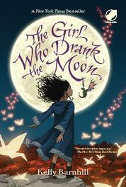 The Girl Who drank The Moon by Cover