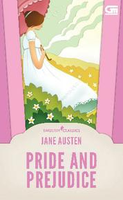 English Classics: Pride and Prejudice by Jane Austen Cover