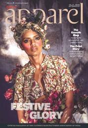 Cover Majalah apparel September 2017