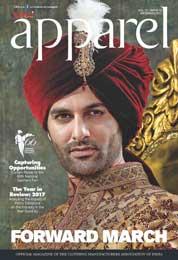 Cover Majalah apparel Desember 2017