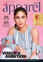Cover Majalah apparel Februari 2018
