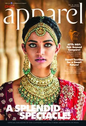 Apparel Magazine Cover August 2018