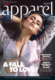 Apparel Magazine Cover September 2018