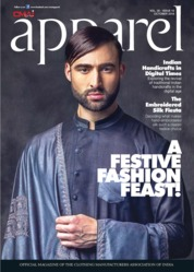Apparel Magazine Cover October 2018