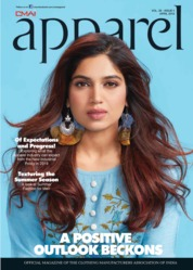 Apparel Magazine Cover April 2019