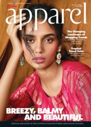 Apparel Magazine Cover May 2019