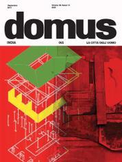 Domus India Magazine Cover September 2017