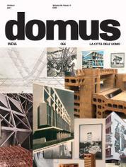 Domus India Magazine Cover October 2017