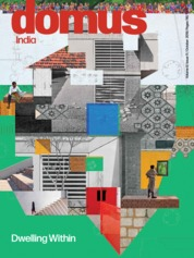 Domus India Magazine Cover October 2019