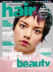 Cover Majalah Hair & Beauty Desember 2017